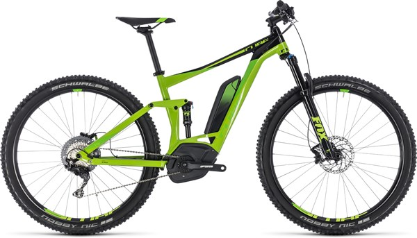 """Cube Stereo Hybrid 120 EXC 500 27.5"""" 2018 - Electric Mountain Bike"""