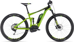 """Product image for Cube Stereo Hybrid 120 EXC 500 27.5"""" 2018 - Electric Mountain Bike"""
