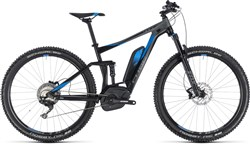 Product image for Cube Stereo Hybrid 120 EXC 500 29er 2018 - Electric Mountain Bike
