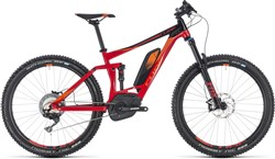 """Product image for Cube Stereo Hybrid 140 Race 500 27.5"""" 2018 - Electric Mountain Bike"""