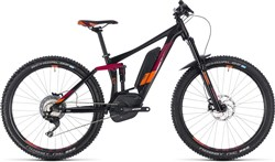 "Cube Sting Hybrid 140 Race 500 27.5"" Womens 2018 - Electric Mountain Bike"