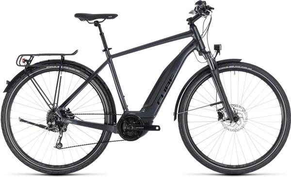 Cube Touring Hybrid One 500 Womens 2019 - Electric Hybrid Bike | City-cykler