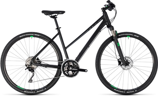 Cube Cross Trapeze Womens 2018 - Hybrid Sports Bike | City-cykler