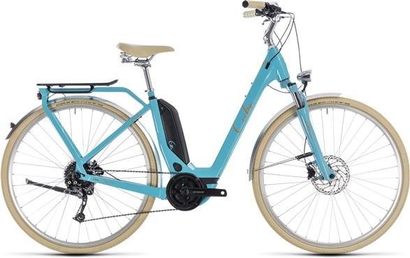 Cube Elly Ride Hybrid 400 Easy Entry 2018 - Electric Hybrid Bike