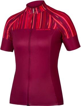 Endura Womens Pinstripe Short Sleeve Jersey