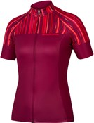Product image for Endura Womens Pinstripe Short Sleeve Jersey