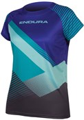 Endura SingleTrack Print Womens Short Sleeve Tech Tee