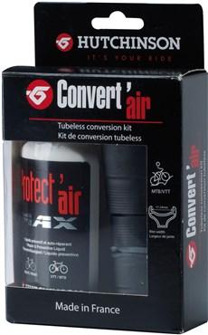 Hutchinson Convert Air Tubeless Conversion Kit | Lappegrej og dækjern