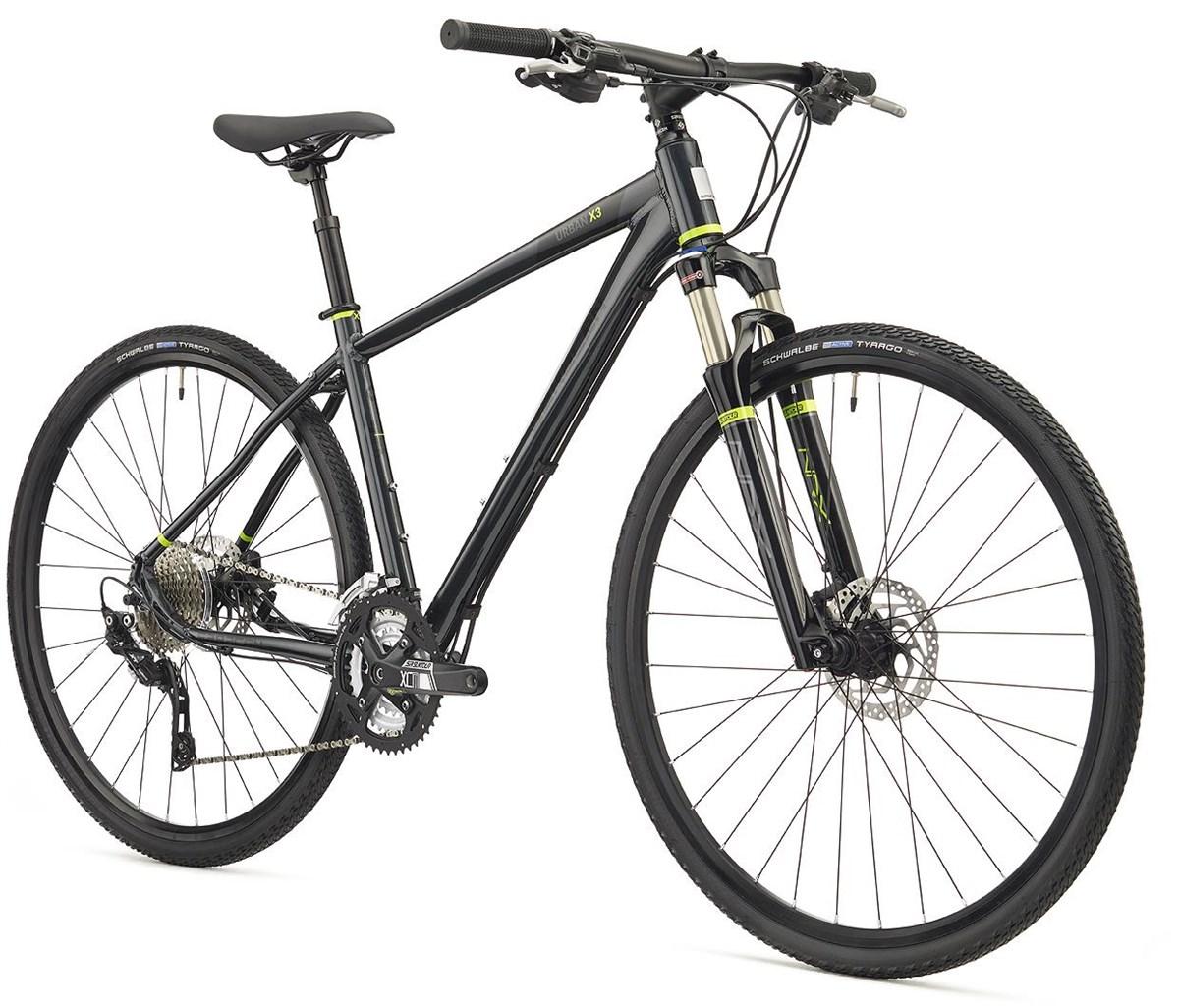 Saracen Urban Cross 3 2018 - Hybrid Sports Bike | City-cykler