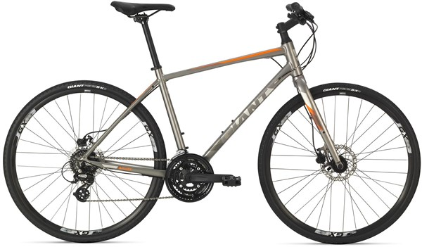 Giant Escape 2 Disc 2018 - Hybrid Sports Bike