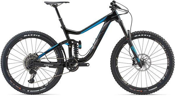"Giant Reign Advanced 0 27.5"" Mountain Bike 2018 - Enduro Full Suspension MTB"