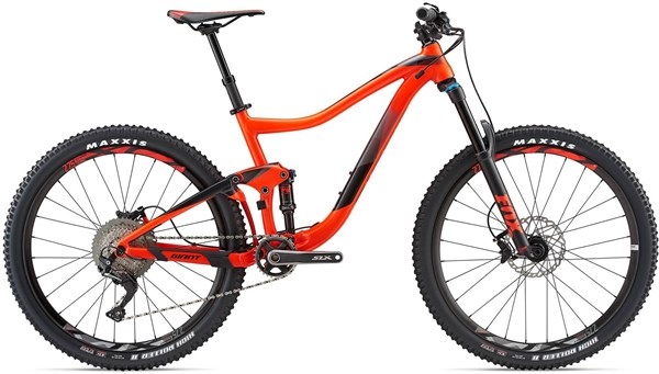 "Giant Trance 2 27.5"" Mountain Bike 2018 - Trail Full Suspension MTB"