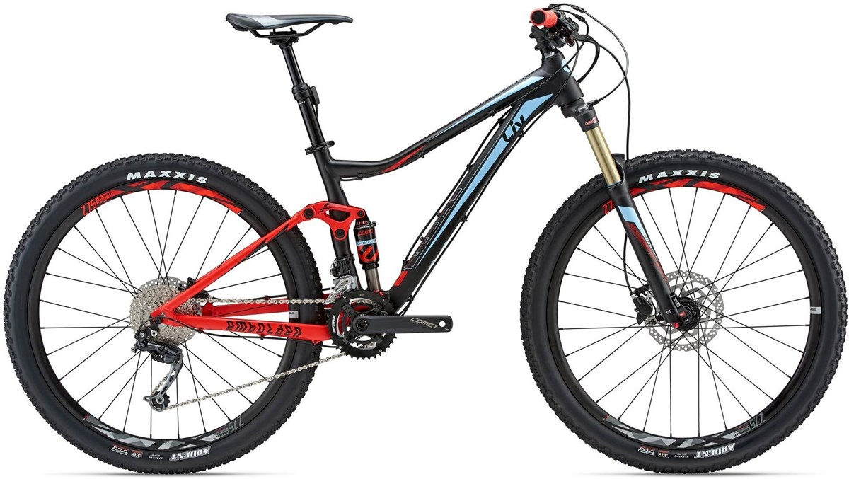 Liv Embolden 2 27.5in womens mountain bike 2018 trail full suspension mtb