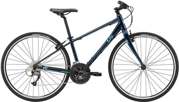 Liv Alight 1 Womens 2018 - Hybrid Sports Bike | City-cykler