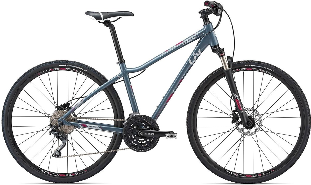 Liv Rove 1 Disc Womens 2018 - Hybrid Sports Bike