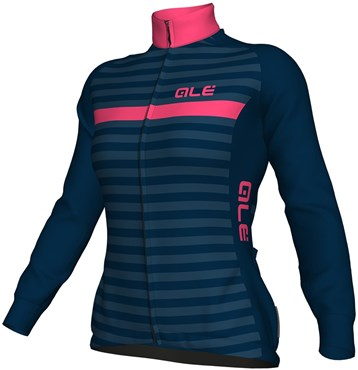 Ale Solid Riviera Womens Long Sleeve Jersey