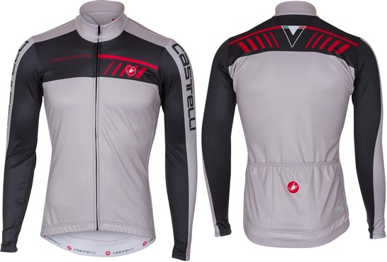 Castelli Velocissimo 2 FZ Long Sleeve Cycling Jersey