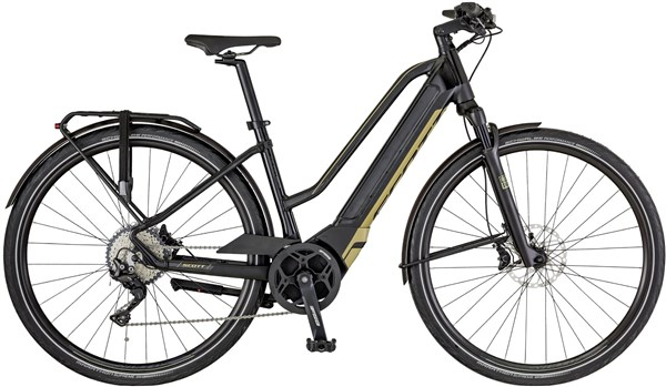 Scott E-Silence 10 Womens 2018 - Electric Hybrid Bike | City-cykler
