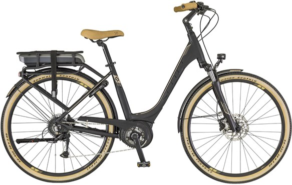 Scott E-Sub Active Unisex Rack Type 2018 - Electric Hybrid Bike