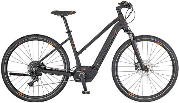 Scott E-Sub Cross 10 Womens 2018 - Electric Hybrid Bike