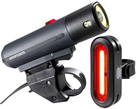 Kryptonite Alley F-650 & Avenue R-50 Premium USB Light Set