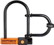 Kryptonite Messenger Mini + with U-Lock Extender - Silver Sold Secure