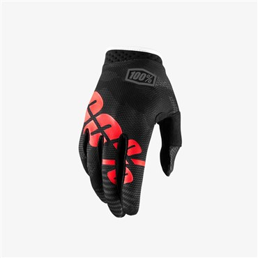 100% iTrack Long Finger Cycling Gloves