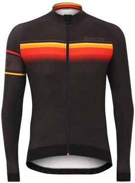 Santini Sleek Lombardia Aquazero Race Long Sleeve Jersey | Trøjer