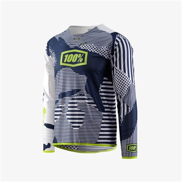 100% R-Core X DH Long Sleeve Jersey AW17