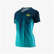 Product image for 100% Airmatic Womens Short Sleeve Jersey