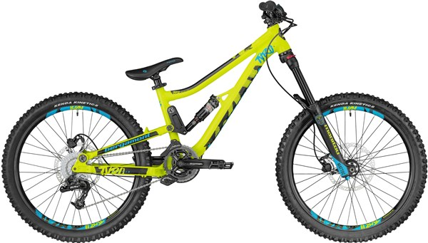 Bergamont Big Air Tyro 24w 2018 - Junior Full Suspension Bike