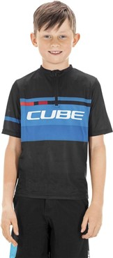 Cube Teamline Junior Short Sleeve Jersey