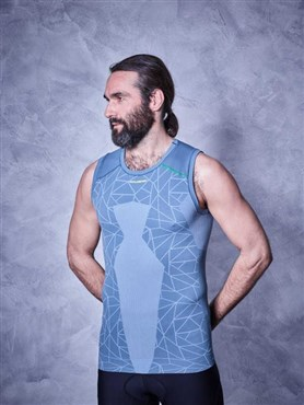 Cube Race Be Cool Sleeveless Baselayer