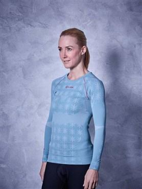 Cube Race Be Cool Womens Long Sleeve Baselayer AW17