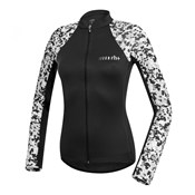 RH+ Camou Womens Thermo Long Sleeve Cycling Jersey