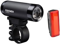 Ravemen CR500 (500 Lumens) / TR20 (20 Lumens) USB Rechargeable Twinset