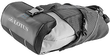 Lotus Explorer Saddle Bag with Dry Bag | Sadeltasker
