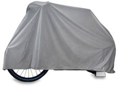 Lotus PVC Waterproof Bike Cover