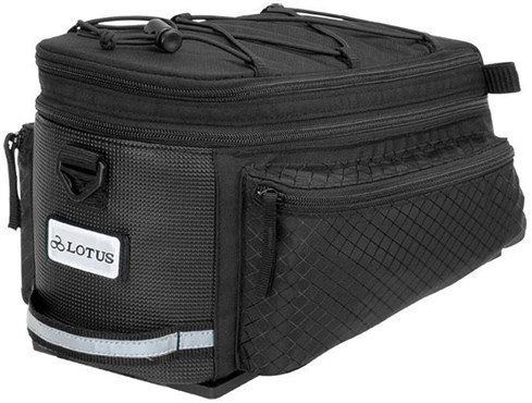 Lotus SH-506D Commuter Expandable Rack Top Bag | Rygsæk og rejsetasker