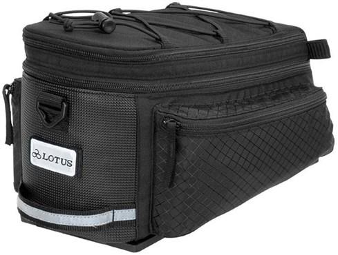 Lotus SH-506D Commuter Expandable Rack Top Bag