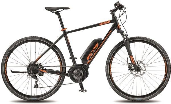 KTM Macina Cross A4 2018 - Electric Hybrid Bike