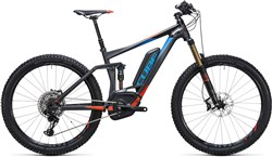 "Cube Stereo Hybrid 140 HPA SL 500 27.5"" - Nearly New - 22"" Mountain Bike 2017 - Electric Mountain"