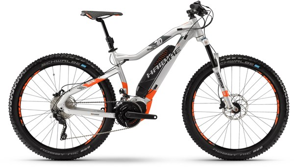 "Haibike sDuro Hardseven 8.0 27.5""+ 2018 - Electric Mountain Bike"