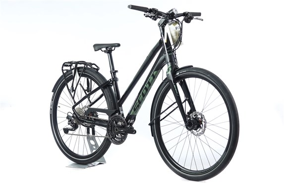 Scott Silence 10 Womens - Nearly New - S - 2018 Hybrid Bike
