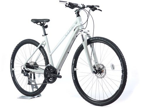 Cube Nature Pro Trapeze Womens - Nearly New - 50cm - 2018 Hybrid Bike
