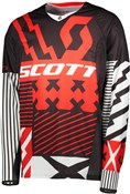 Product image for Scott 450 Patchwork Long Sleeve Jersey