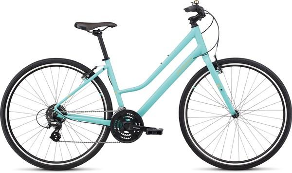 Specialized Alibi Sport Step Through Womens 2018 - Hybrid Sports Bike
