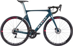 De Rosa SK Disc 8050/Racing 400 Grigio Roccia 2018 - Road Bike