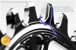 absoluteBLACK Hollowgram Direct Mount Round Ring N/W