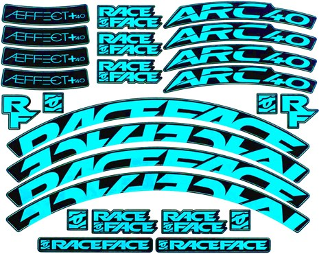 Race Face Arc / AEffect Rim Decal Kit